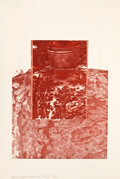 Post-War & Contemporary:Contemporary, ROBERT RAUSCHENBERG (American, 1925-2008). Untitled, 1979.Color lithograph. 18-5/8 x 13 inches (47.3 x 33.0 cm). Ed. 12...