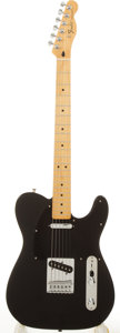 Musical Instruments:Electric Guitars, 2008/9 Fender Telecaster Black Electric Guitar #MZ8281452....