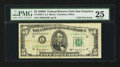 Error Notes:Foldovers, Fr. 1965-L $5 1950D Federal Reserve Note. PMG Very Fine 25.. ...