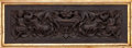 Decorative Arts, Continental:Other , A SET OF FOUR FRAMED CONTINENTAL CARVED WALNUT PANELS . Makerunknown, probably Italian, circa 1600-1700. Unmarked. Panel: 2...(Total: 4 Items)