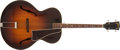 Musical Instruments:Acoustic Guitars, Late 1940's Gibson TG-50 Sunburst Tenor Guitar, #NA. ...