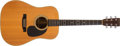 Musical Instruments:Acoustic Guitars, 1976 Martin D-28 Natural Acoustic Guitar, #387312. ...