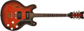 Musical Instruments:Electric Guitars, 1960s Mosrite CE1 Sunburst Semi-Hollow Electric Guitar, #2DL051....