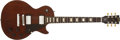 Musical Instruments:Electric Guitars, 2008 Gibson Les Paul Studio Natural Solid Body Electric Guitar,#022480512. ...