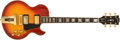 Musical Instruments:Electric Guitars, 1974-75 Gibson Custom L-5 Sunburst Solid Body Electric Guitar,#409319. ...