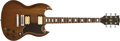 Musical Instruments:Electric Guitars, 1973 Gibson SG Standard Natural Solid Body Electric Guitar,#00150917. ...