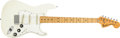 Musical Instruments:Electric Guitars, 1974 Fender Stratocaster Cream Solid Body Electric Guitar, #577576....