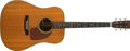 Musical Instruments:Acoustic Guitars, 1956 Martin D-28 Natural Acoustic Guitar, #151896....