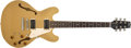 Musical Instruments:Electric Guitars, Modern Heritage Prospect Std. Gold Top Semi-Hollow Electric Guitar, #R21505. ...