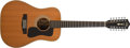 Musical Instruments:Acoustic Guitars, 1976 Guild G312XT Natural 12-String Acoustic Guitar, #148086. ...
