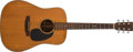 Musical Instruments:Acoustic Guitars, 1988 Martin D-18P Natural Acoustic Guitar, #478173. ...