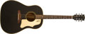 Musical Instruments:Acoustic Guitars, 1969 Gibson J-45 ADJ Black Acoustic Guitar, #800884. ...