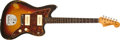 Musical Instruments:Electric Guitars, 1963 Fender Jazzmaster Sunburst Solid Body Electric Guitar,#L22790. ...