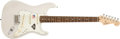 Musical Instruments:Electric Guitars, 2006 Fender 60th Anniversary Stratocaster Blonde Electric Guitar,#Z6015282. ...