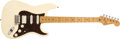 Musical Instruments:Electric Guitars, 1984 Fender Stratocaster White Electric Guitar, #E415963. ...