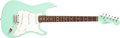 Musical Instruments:Electric Guitars, 1996 Fender Stratocaster Seafoam Green Electric, #N555545. ...