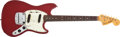 Musical Instruments:Electric Guitars, 1966 Fender American Mustang Dakota Red Electric Guitar #167681....