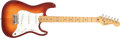 Musical Instruments:Electric Guitars, 1983 Fender Stratocaster American Standard Sienna Sunburst ElectricGuitar #E337089....
