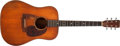Musical Instruments:Acoustic Guitars, 1962 Martin D-18 Natural Acoustic Guitar, #188344. ...