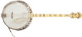Musical Instruments:Banjos, Mandolins, & Ukes, 1920's Bacon and Day Montana Silverbell Natural Tenor Banjo, #N/A....