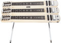 Musical Instruments:Lap Steel Guitars, 1957 Fender Stringmaster Triplemaster Blonde Lap Steel Guitar, #-1494....