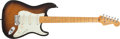 Musical Instruments:Electric Guitars, 2007 Fender Stratocaster Sunburst Electric Guitar, #DZ7292703. ...