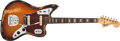 Musical Instruments:Electric Guitars, 1969 Fender Jaguar Sunburst Electric Guitar, #284437. ...