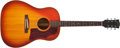 Musical Instruments:Acoustic Guitars, 1966 Gibson J-45 ADJ Sunburst Acoustic Guitar #406202....