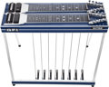 Musical Instruments:Lap Steel Guitars, Modern GFI Ultra Blue Double-Neck Pedal Steel Guitar, #NA. ...