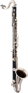 Musical Instruments:Horns & Wind Instruments, 2000's Lablanc 7166 Bass Clarinet, #3039F....