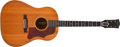 Musical Instruments:Acoustic Guitars, 1961 Gibson J50 Natural Acoustic Guitar, #4275....