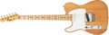 Musical Instruments:Electric Guitars, 1973 Fender Telecaster Left-Handed Natural Electric Guitar#395333....