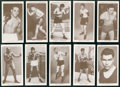 """Boxing Cards:General, 1938 Churchmen's """"Boxing Personalities"""" Complete Set (50)...."""