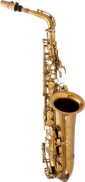 Musical Instruments:Horns & Wind Instruments, 1965 Selmer Mark VI Brass Alto Saxophone, #127699. ...