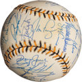 Baseball Collectibles:Balls, 1994 National League All Stars Team Signed Baseball (32Signatures)....