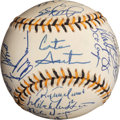 Baseball Collectibles:Balls, 1994 American League All-Star Team Signed Baseball (27 Signatures)....