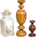 Military & Patriotic:Revolutionary War, Relics: Three Relics Related to New York, from the Collection of J.S. Reigart,...