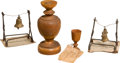 General Historic Events:Expos, Relics: Four Relics Related to 19th Century American Expositions and Fairs, from the Collection of J. S. Reigart,...