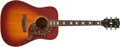 Musical Instruments:Acoustic Guitars, Gibson Hummingbird Sunburst Acoustic Guitar, #635269....