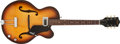 Musical Instruments:Electric Guitars, 1966 Gretsch Clipper Sunburst Hollow-Body Electric Guitar, #106852....