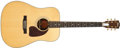 Musical Instruments:Acoustic Guitars, 1997 Gibson J-60+ Natural Acoustic Guitar, #91477050....