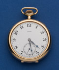 Timepieces:Pocket (post 1900), Longines 14k Gold 46 mm For Ryrie. ...