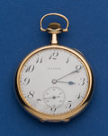 Timepieces:Pocket (post 1900), Elgin 14k Gold 12 Size. ...