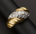 French Diamond & Gold Ring