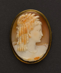 Signed Cameo Pin