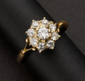 Estate Jewelry:Rings, Estate Diamond Cluster Ring. ...