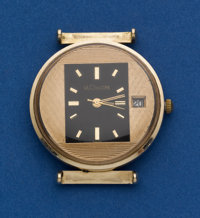 LeCoultre 14k Gold With Unusual Dial
