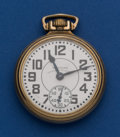 Timepieces:Pocket (post 1900), Waltham 23 Jewel Vanguard. ...