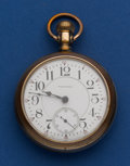 Timepieces:Pocket (pre 1900) , Waltham Model 92, 21 Jewel Crescent St.. ...
