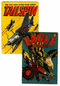 Golden Age (1938-1955):Miscellaneous, Miscellaneous Golden Age Air Combat Related Comics Group (Various Publishers, 1944-45).... (Total: 2 Comic Books)